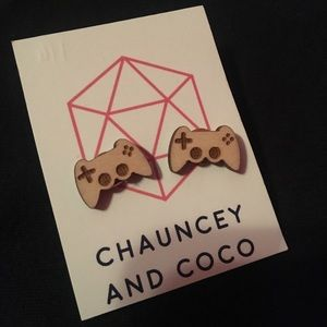 Chauncey and Coco Wooden Earrings